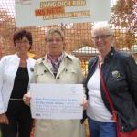 kfd, Diözesanverband Köln, Vorstand, Altenberger Dom (auf der Wiese)