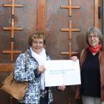 Monika Bossong und Mathilde Graus, Evangelische Stadtkirche, St. Wendel