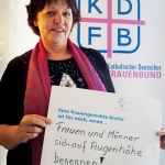 Edeltraud Hann, Bundesausschuss des Katholischen Deutschen Frauenbundes 2017 in Schloss Fürstenried, München
