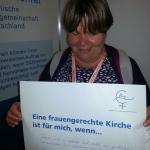 Gisela Obert, Deutscher Evangelische Kirchentag 2017, Berlin