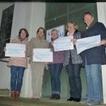 Elisabeth Hammen, Almut Marczinski, Evamarie Meier-Frings, Kathrin Pütt-Fengler, Annette Thamm; Evangelische Kirche Wald, Solingen