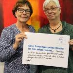 Elke Heinen u. Irmgard Großbrökner, kfd St. Laurentius, Essen-Steele  Katholische Akademie