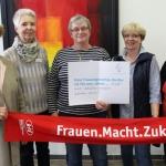 Frau Schmenk, Frau Breuckmann, Frau Giesche, Frau Bruckmann und Frau Dach; Katholische Akademie
