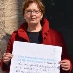 kfd-Frau aus dem Diözesanverband Trier anlässlich des kfd-Frauentag im Rahmen der Heilig-Rock-Tage 2017, Trierer Dom, Trier