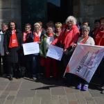 kfd-Frauen aus dem Diözesanverband Trier anlässlich des kfd-Frauentag im Rahmen der Heilig-Rock-Tage 2017, Trierer Dom, Trier
