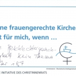 Ökumenischer Frauengottesdienst auf dem Deutschen Evangelischen Kirchentag 2017, Pfingstkirche, Berlin