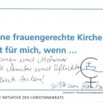 Gitte aus Hamburg, Ökumenischer Frauengottesdienst auf dem Deutschen Evangelischen Kirchentag 2017, Pfingstkirche, Berlin