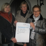 Irmgard Hestermann, Gisela Löhr, Fine Ahrweiler -Pfarrkirche St. Georg (Tür zur Sakristei), Korschenbroich-Liedberg
