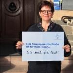 Prof. Dr. Isa Breitmaier, ESWTR Jahrestagung