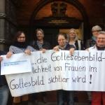 Frauengottesdienst der Kirchengemeinde Nord-Barmbek in Hamburg  Auferstehungskirche, Nord-Barmbek zu Hamburg