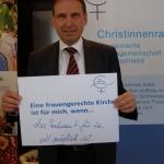Dieter Althaus, ZdK Vollversammlung, Bonn