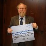 Wolfgang Thierse, ZdK Vollversammlung, Bonn