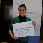 Lisi Maier, ZdK Vollversammlung, Bonn