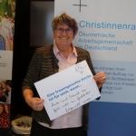 Dr. Elfriede Schießleder, ZdK Vollversammlung, Bonn